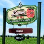 Enseigne en PVC pour-ferme - Sainte-Anne-des-Plaines