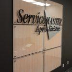 Panneaux muraux, acrylique, logo 3d